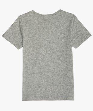 Tee-shirt garçon avec motif football vue3 - GEMO (ENFANT) - GEMO
