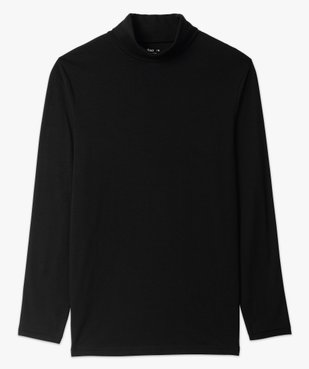 Tee-shirt homme à large col roulé coupe slim vue4 - GEMO (HOMME) - GEMO