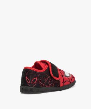 Chaussons garçon bicolores Spiderman à scratch vue4 - SPIDERMAN - GEMO