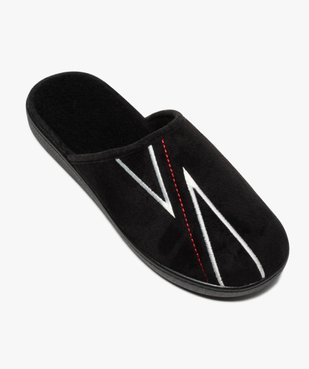 Chaussons homme mules à surpiqûres contrastantes vue5 - Nikesneakers(HOMWR HOM) - Nikesneakers