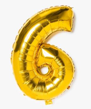 Ballon gonflable en forme de chiffre vue1 - GEMO (ACCESS) - GEMO