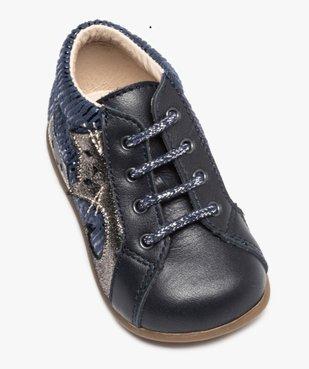 Chaussures premiers pas bébé avec motifs chats - Bopy vue5 - BOPY - Nikesneakers
