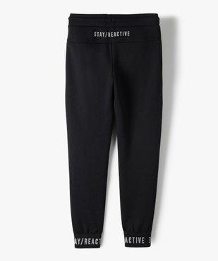 Pantalon de jogging garçon avec zips fantaisie sur l'avant vue5 - GEMO (ENFANT) - GEMO