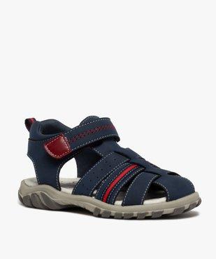 Sandales garçon tout terrain à scratch et bout fermé vue2 - Nikesneakers (ENFANT) - Nikesneakers