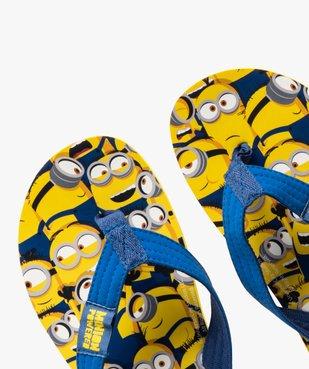 Tongs garçon à brides souples - Minions vue3 - MINIONS - Nikesneakers