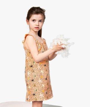 Chemise de nuit fille à motifs étoiles de mer vue1 - GEMO (ENFANT) - GEMO