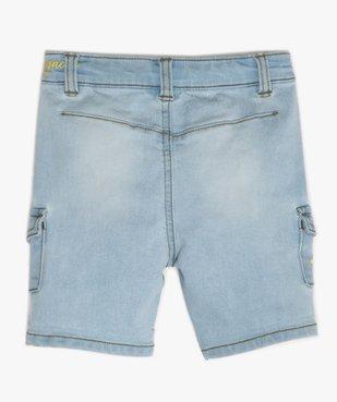 Bermuda bébé garçon en jean - Lulu Castagnette vue4 - LULUCASTAGNETTE - GEMO
