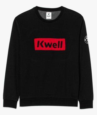 Sweat homme en molleton avec broderie bouclette - Kwell by Soprano vue4 - KWELL - GEMO