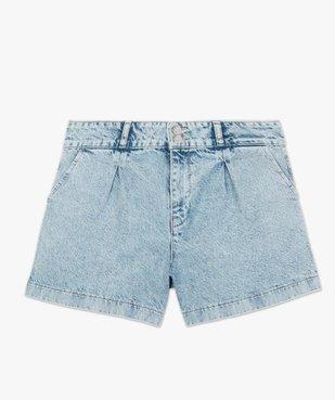 Short femme en jean large vue4 - GEMO(FEMME PAP) - GEMO