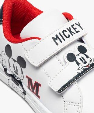 Tennis enfant à scratch imprimées Mickey vue6 - MICKEY - GEMO