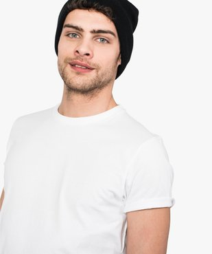 Tee-shirt homme regular à manches courtes en coton bio vue2 - GEMO C4G HOMME - GEMO