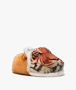 Chaussons garçon en volume tête de tigre vue2 - GEMO C4G GARCON - GEMO