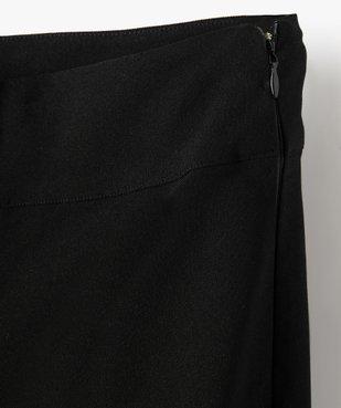 Pantalon fille en maille extensible avec ceinture plate vue2 - GEMO (JUNIOR) - GEMO
