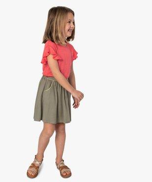 Jupe fille ample avec liserés pailletés vue5 - GEMO (ENFANT) - GEMO