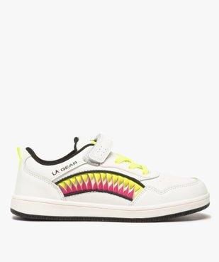 Baskets fille avec bandes colorées et touches fluo – LA Gear vue1 - L.A. GEAR - GEMO
