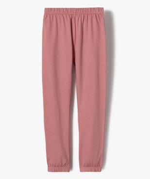Pyjama fille avec motifs licorne vue3 - GEMO (ENFANT) - GEMO