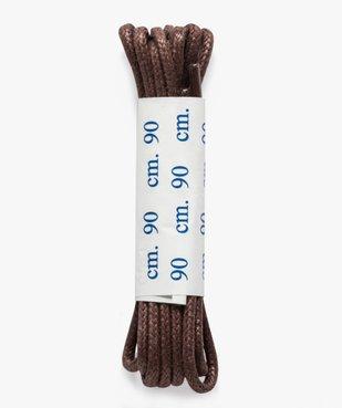 Lacets ronds en coton ciré 90 cm vue2 - GEMO(ENTRETIEN) - GEMO