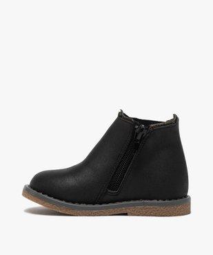 Boots bébé fille zippées à détails pailletés – Lulu Castagnette vue3 - LULU CASTAGNETT - GEMO