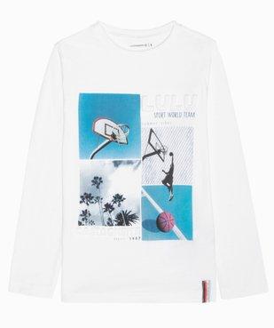 Tee-shirt garçon à motifs sportifs – Lulu Castagnette vue1 - LULUCASTAGNETTE - GEMO