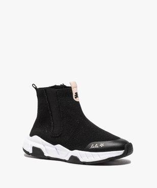 Baskets fille en forme de chaussettes - LuluCastagnette  vue2 - LULU CASTAGNETT - Nikesneakers