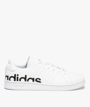 Baskets garçon unies logo – Adidas Grand Court LTS K vue1 - ADIDAS - Nikesneakers
