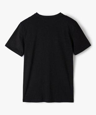 Tee-shirt garçon à manches courtes imprimé vue3 - GEMO (JUNIOR) - GEMO