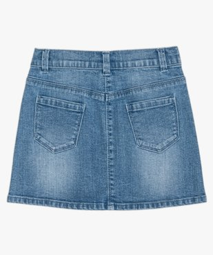 Jupe fille en jean extensible vue4 - GEMO (ENFANT) - GEMO