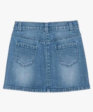 Jupe fille en jean extensible vue5 - GEMO (ENFANT) - GEMO