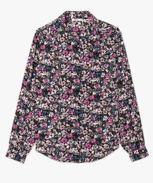 Chemise femme à motifs fleuris vue4 - GEMO(FEMME PAP) - GEMO