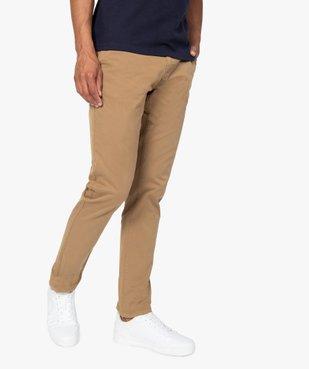 Pantalon chino homme en coton stretch vue1 - Nikesneakers (HOMME) - Nikesneakers