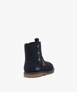 Boots bébé fille zippés à détails pailletés – Lulu Castagnette vue4 - LULU CASTAGNETT - GEMO