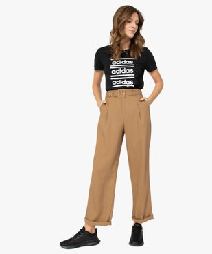 Tee-shirt femme pour le sport - Adidas vue5 - ADIDAS - GEMO