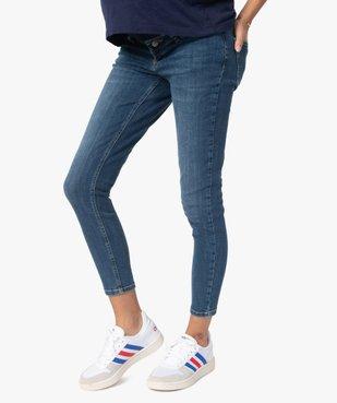 Jean de grossesse coupe Slim avec bandeau bas vue1 - Nikesneakers (MATER) - Nikesneakers