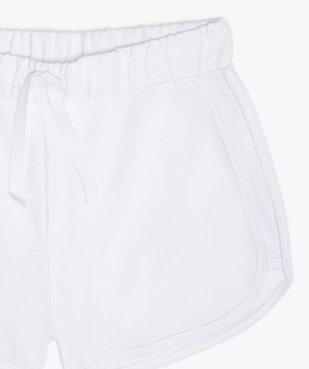Short fille en jersey look vintage vue2 - Nikesneakers (JUNIOR) - Nikesneakers