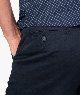 Pantalon homme chino coupe slim vue2 - GEMO (HOMME) - GEMO