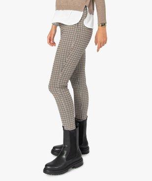 Leggings femme à motifs pied de coq vue2 - Nikesneakers(FEMME PAP) - Nikesneakers