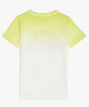 Tee-shirt garçon tie-and-dye avec patch football vue3 - GEMO (ENFANT) - GEMO