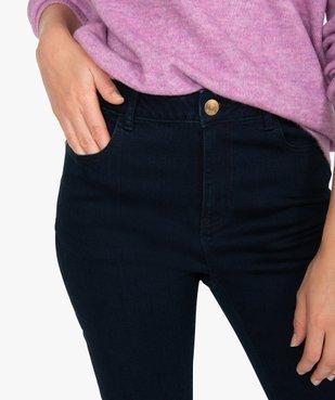 Jean femme slim à taille haute ultra stretch - L26 vue2 - GEMO(FEMME PAP) - GEMO