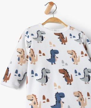 Pyjama bébé garçon avec motifs dinosaures vue2 - GEMO(BB COUCHE) - GEMO