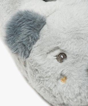 Chaussons femme 3D en forme de koala vue6 - GEMO(HOMWR FEM) - GEMO