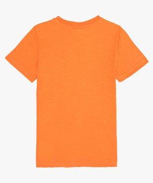 Tee-shirt garçon avec motif dinosaure XXL vue3 - GEMO (ENFANT) - GEMO