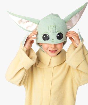 Déguisement enfant Baby Yoda The Mandalorian (2 pièces) - Star Wars vue1 - DISNEY - GEMO