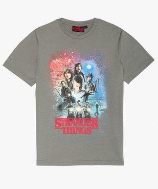 Tee-shirt garçon avec motif XXL – Stranger Things vue1 - STRANGER THINGS - GEMO