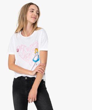 Tee-shirt femme large avec imprimé XXL - Disney vue1 - DISNEY - GEMO