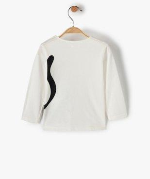 Tee-shirt bébé fille à manches longues avec motif pailleté vue3 - Nikesneakers(BEBE DEBT) - Nikesneakers