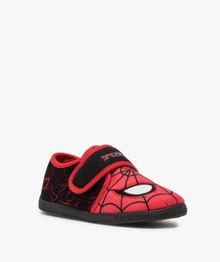 Chaussons garçon bicolores Spiderman à scratch vue2 - SPIDERMAN - GEMO