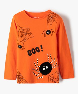 Tee-shirt garçon avec motifs araignées vue1 - GEMO (ENFANT) - GEMO