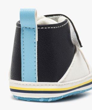 Chaussons de naissance garçon style baskets vue6 - Nikesneakers(BB COUCHE) - Nikesneakers