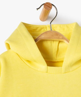 Sweat bébé garçon à capuche avec coutures asymétriques vue3 - Nikesneakers C4G BEBE - Nikesneakers