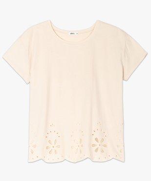 Tee-shirt femme à manches courtes avec bas brodé vue4 - Nikesneakers(FEMME PAP) - Nikesneakers
